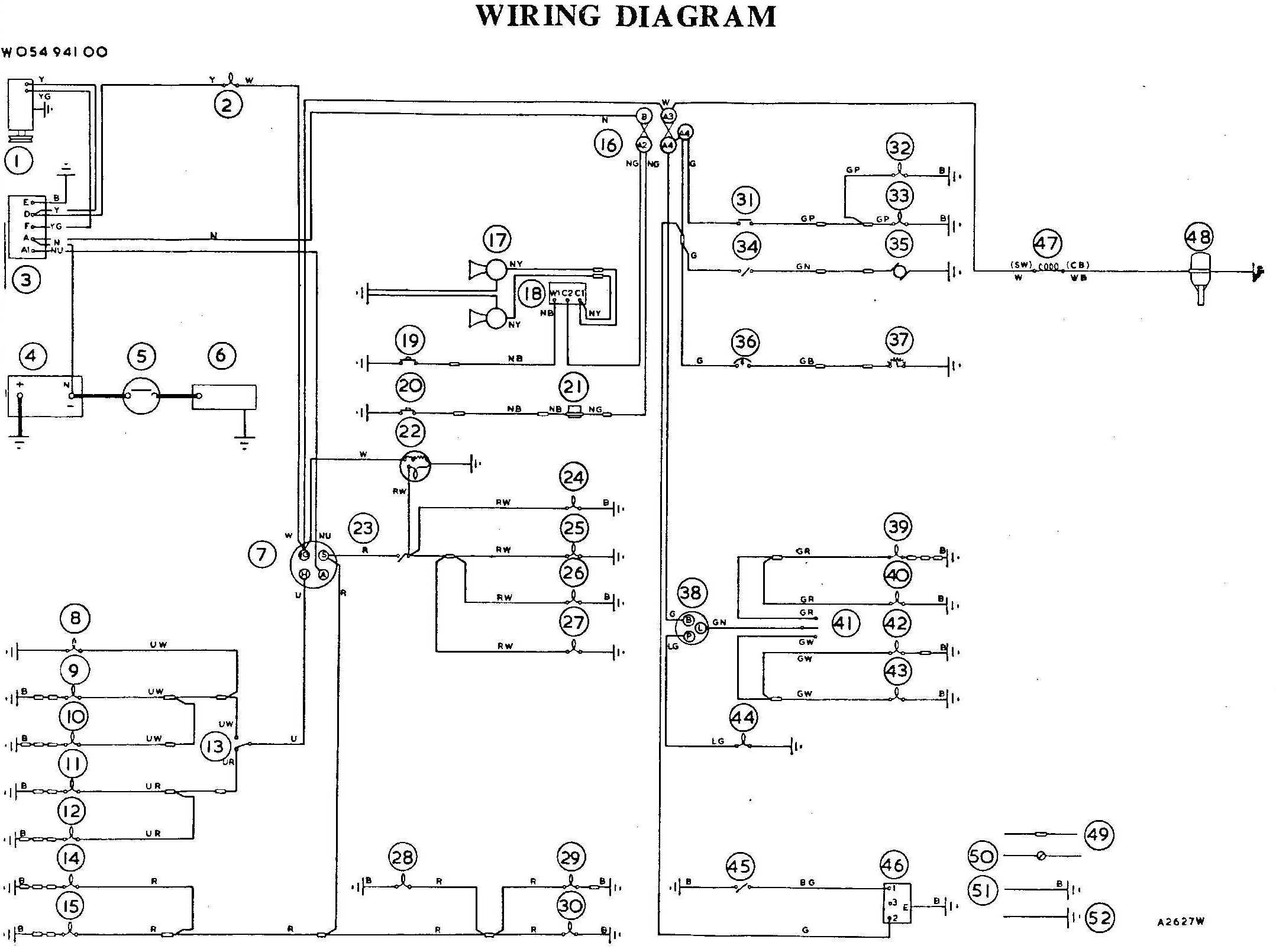 Bugeye Wiring Diagrams